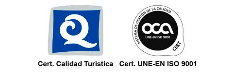 Certificado Calidad Turística